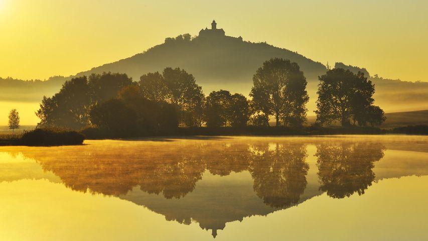 赖格莱兴的Wachsenburg城堡,德国图林根州