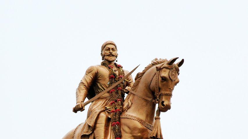 Statue of Shivaji in Solapur, Maharashtra