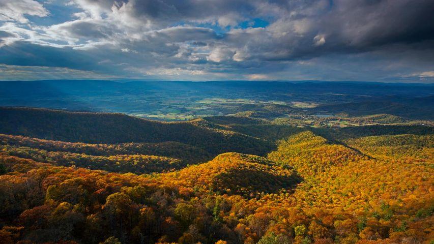 Shenandoah National Park in the Blue Ridge Mountains of Virginia