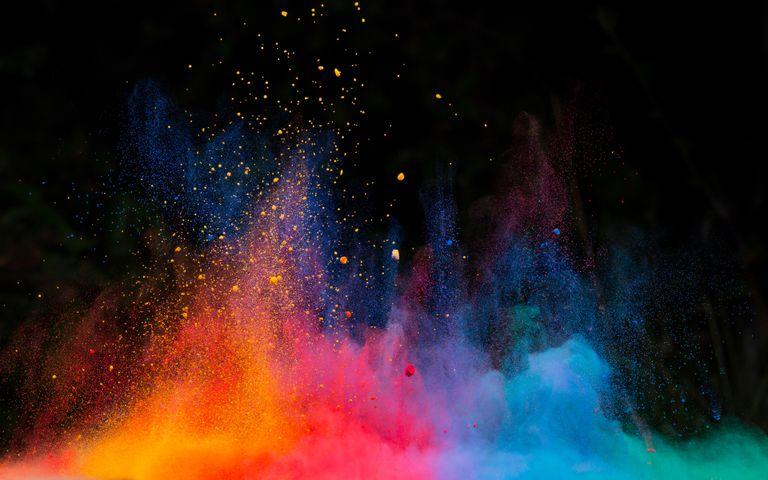 color explosion colorful colored