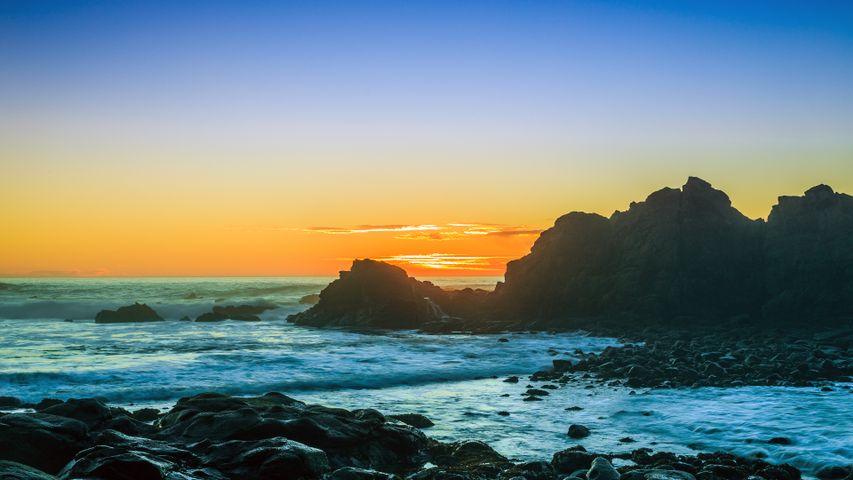 water sky outdoor sunset nature landscape beach sea