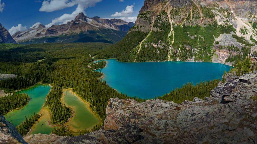 Lake O'Hara in Yoho National Park, British Columbia, Canada