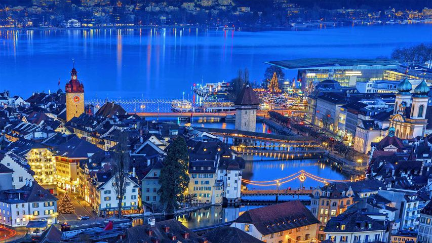 Old Town of Lucerne, Switzerland