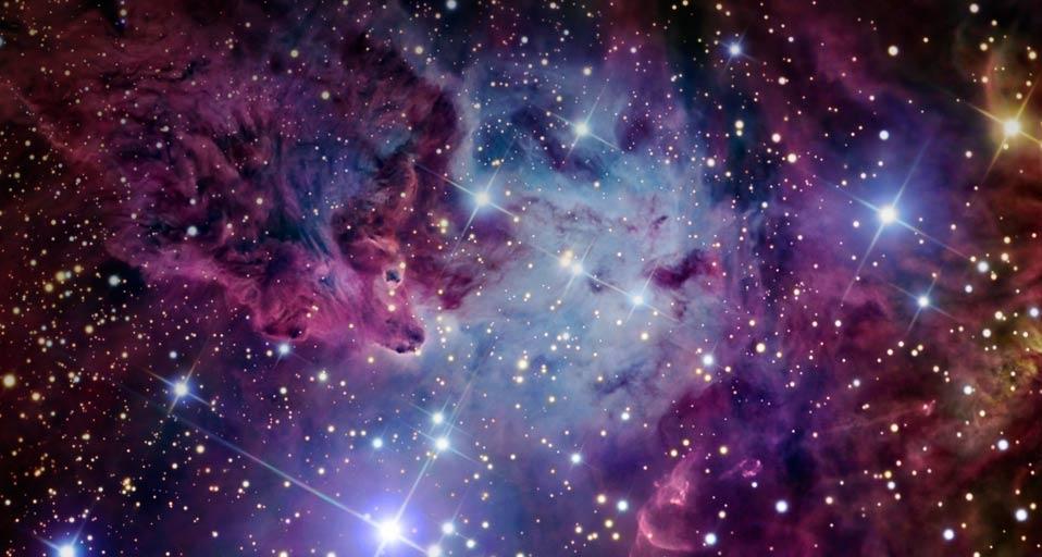 「狐の毛皮星雲」いっかくじゅう座 Peapix