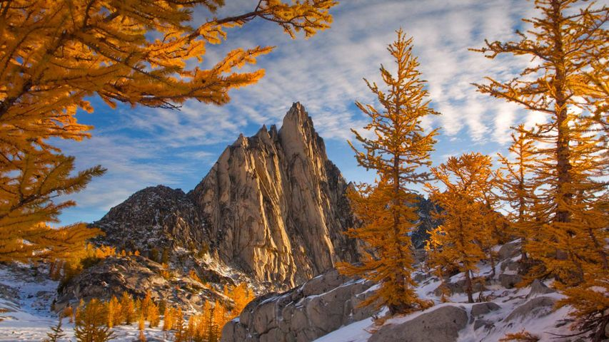 Prusik Peak in the Enchantments, Alpine Lakes Wilderness, Washington