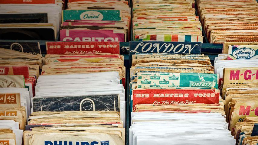 Vinyl records in Rosmalen, The Netherlands