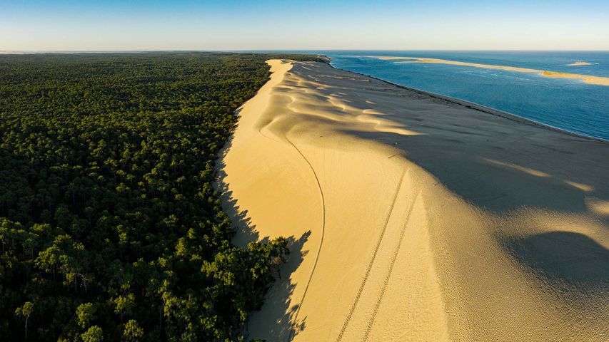 The Dune of Pilat, Arcachon Bay, France