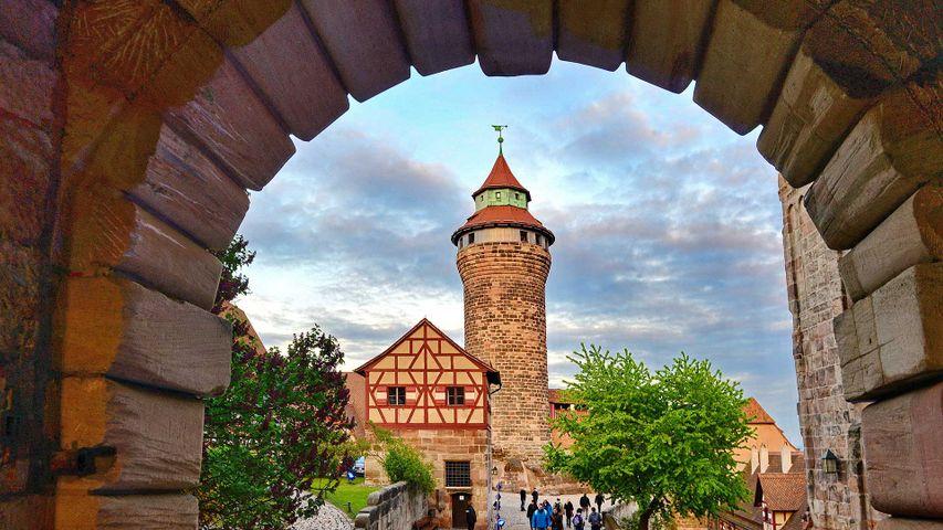 Sinwellturm der Kaiserburg, Nürnberg, Bayern