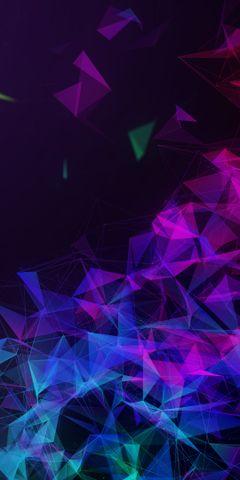 abstract illumination rave light art furry
