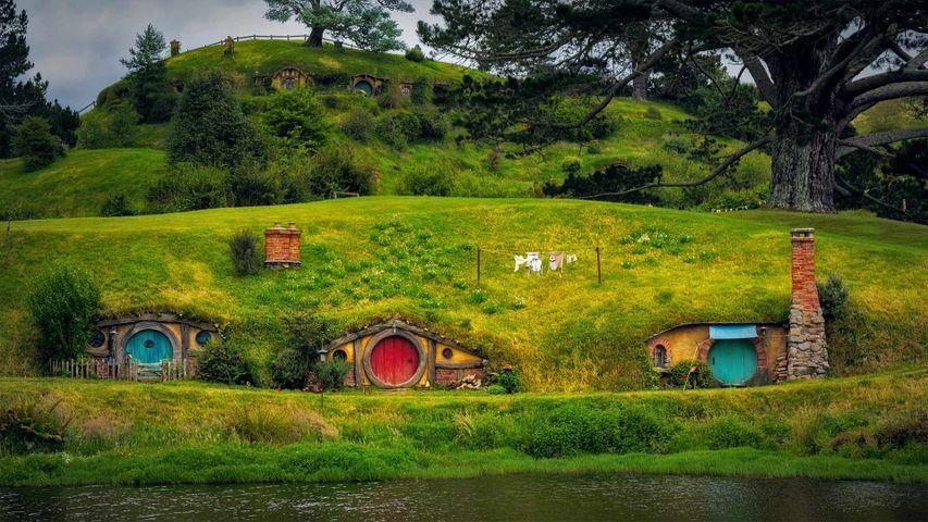 Hobbiton, near Matamata, North Island, New Zealand
