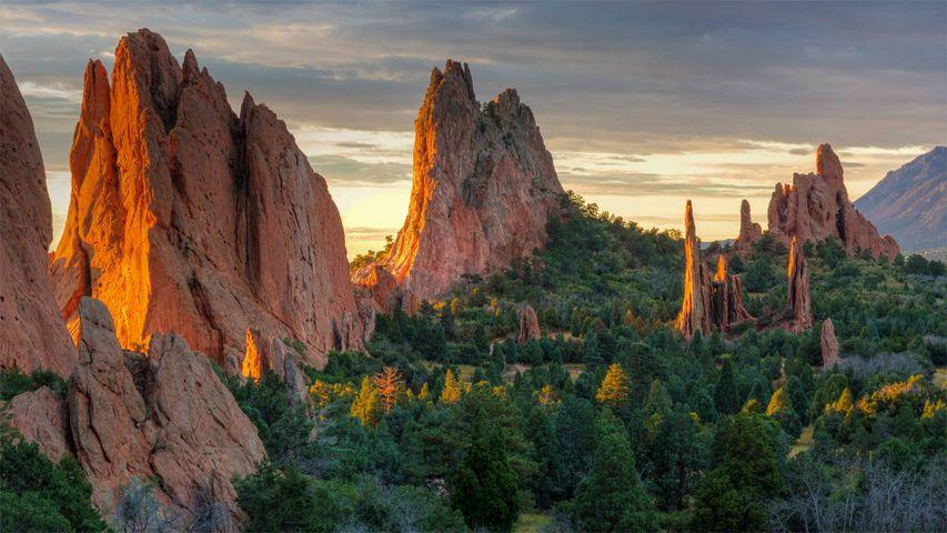 Garden of the Gods Park in Colorado Springs, Colorado, USA