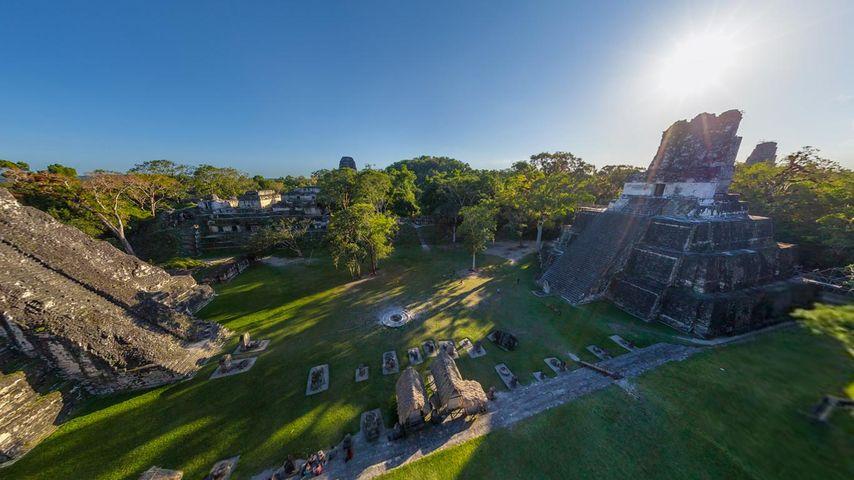 Maya pyramids, Tikal, Guatemala