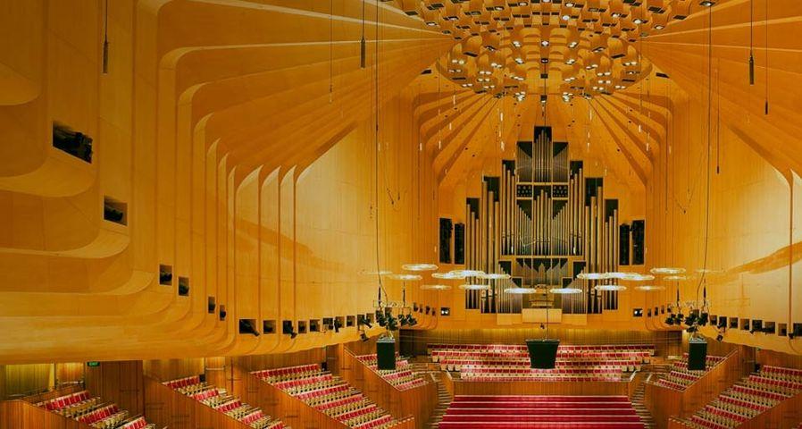Intérieur de l'opéra de Sydney, Australie