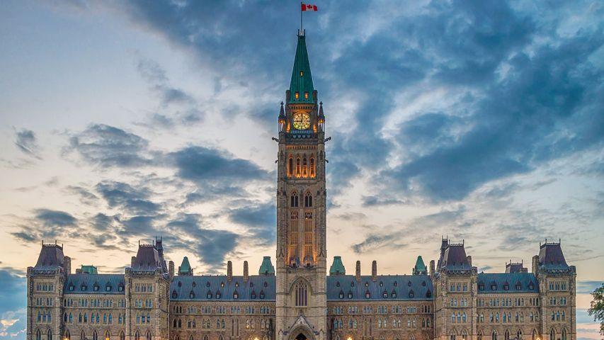 The Parliament of Canada in Ottawa