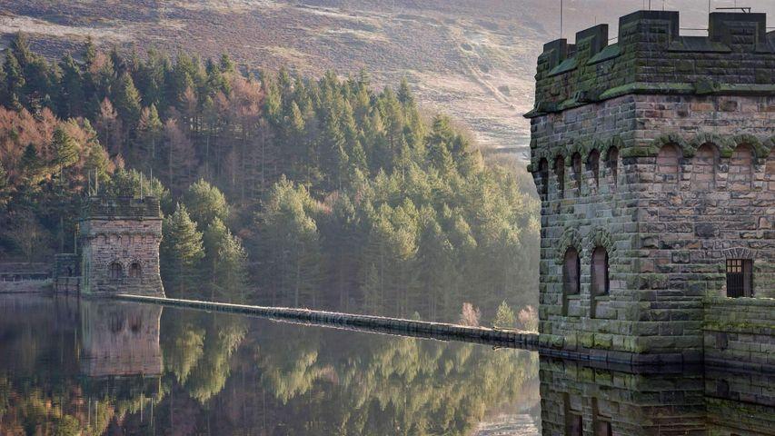 Derwent Reservoir in Derbyshire