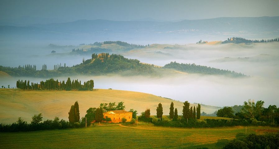 Val d'Orcia,Tuscany, Italy