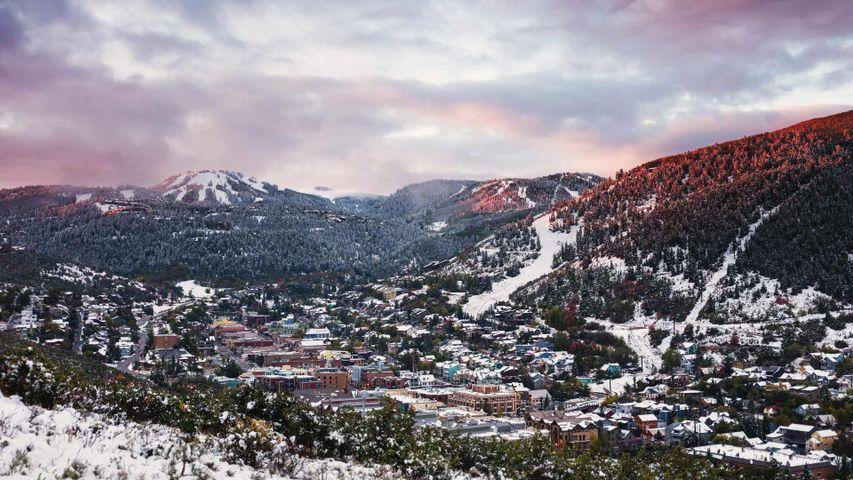 Park City, Utah, USA. Zum Start des Sundance Film Festivals