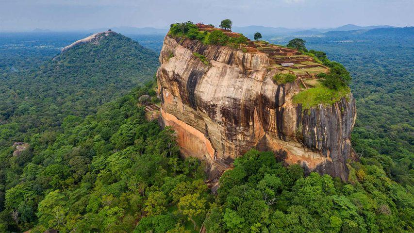 Sigiriya Rock, Central Province, Sri Lanka
