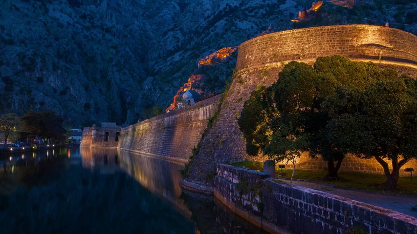 The fortifications of Kotor, Montenegro