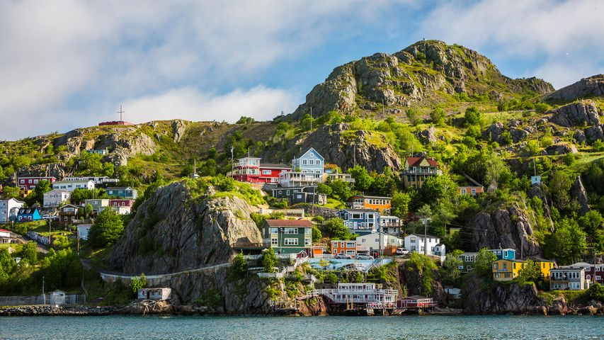 Slopes of Signal Hill in St. John's Newfoundland and Labrador