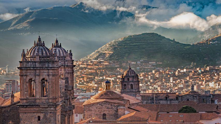 Kathedrale von Cusco auf der Plaza de Armas, Cusco, Peru
