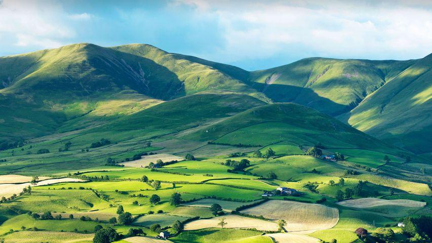 Howgill Fells, Yorkshire Dales National Park, England
