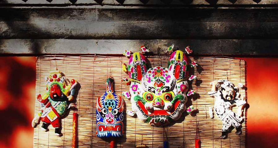 春节期间的传统中国饰品