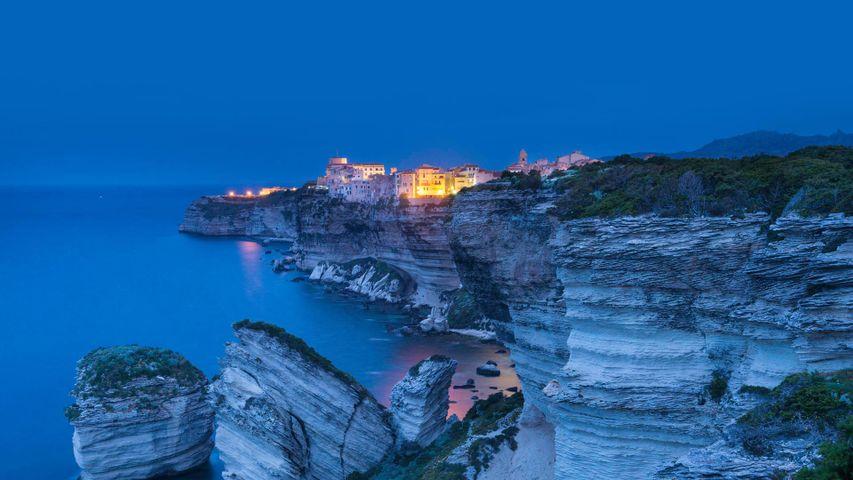 Bonifacio on the island of Corsica, France