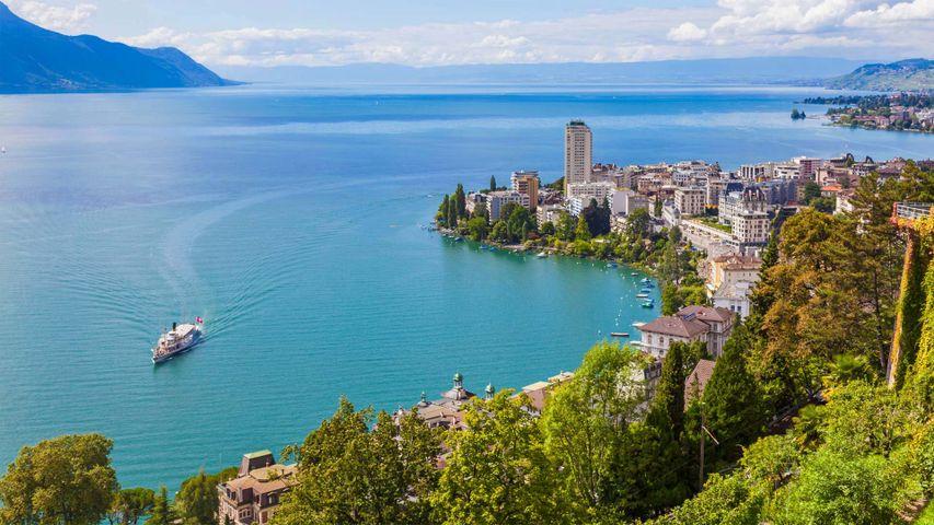 蒙特勒和日内瓦湖,瑞士