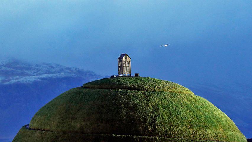 Þúfa hill à Reykjavik, Islande