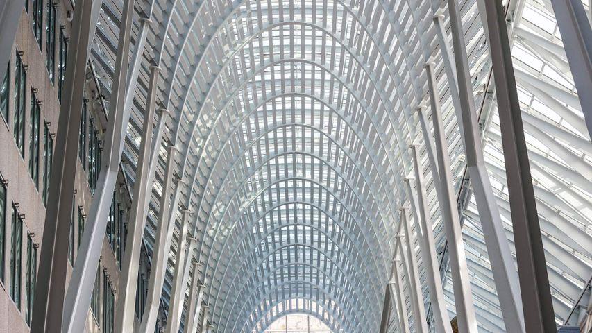 The Allen Lambert Galleria in Brookfield Place, Toronto
