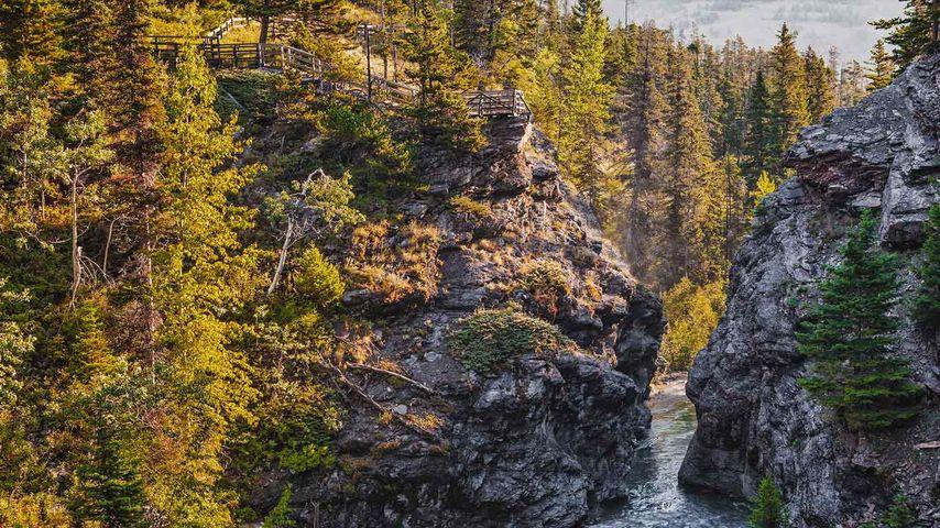 Blakiston falls, Waterton Lakes National Park, Alberta