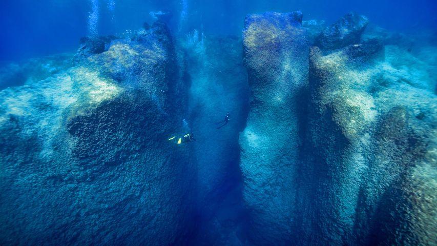 Scuba diving in Kaş, Turkey