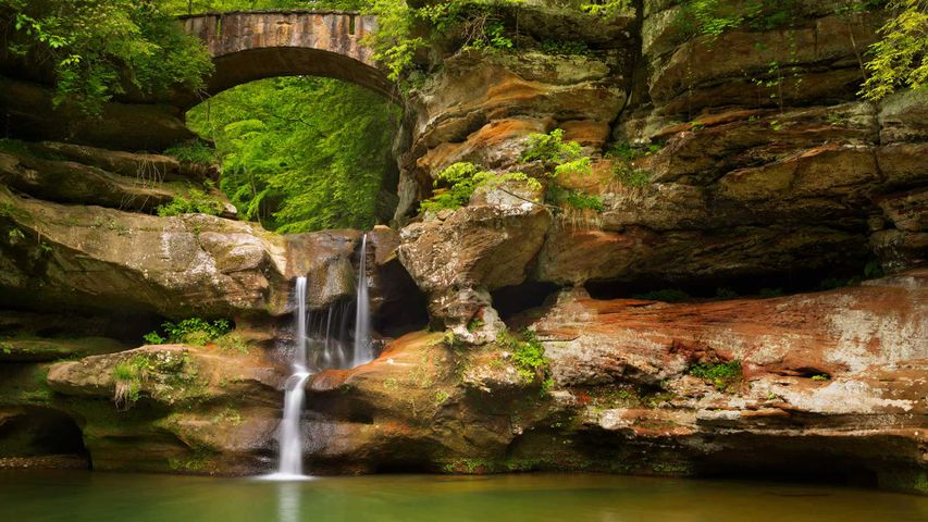 Hocking Hills State Park in Ohio for National Public Lands Day