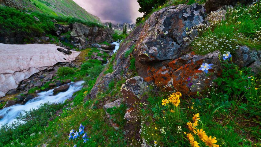 American Basin in southern Colorado's San Juan Mountains