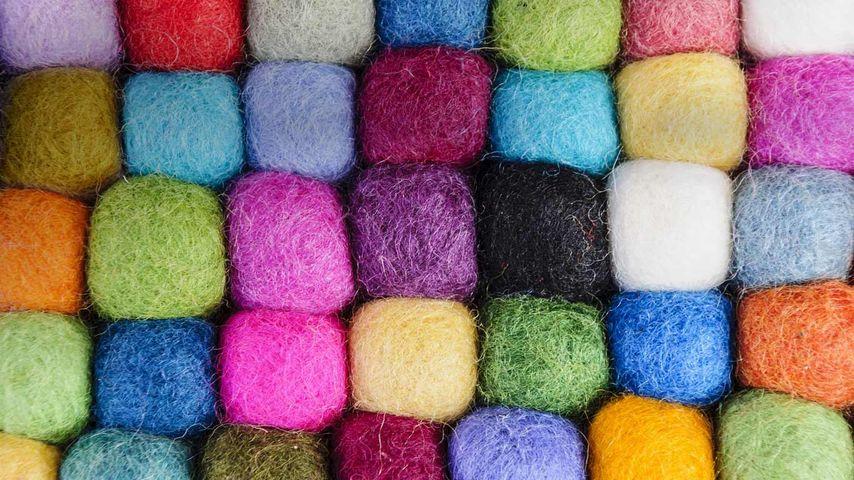 Tibetan wool, Boudhanath, Kathmandu, Nepal