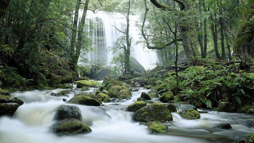 Jerusalem River Waterfalls, Tasmania, Australia