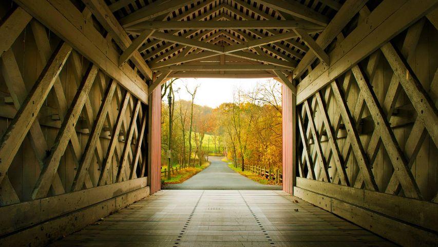 Ashland Bridge in Yorklyn, Delaware