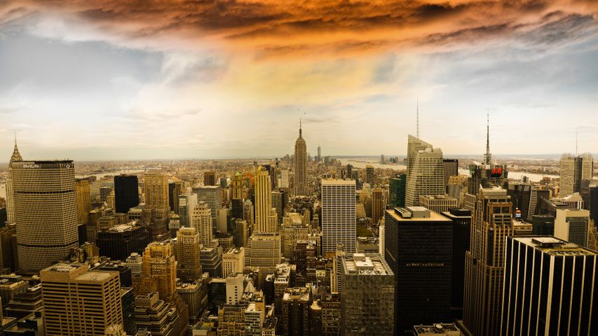 skyscraper building tower city sky cloud downtown skyline