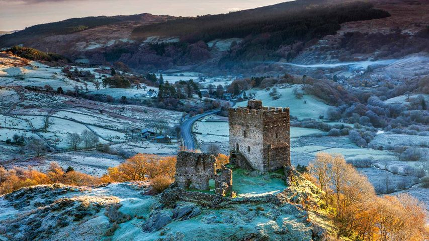 Dolwyddelan Castle, Snowdonia National Park, Conwy