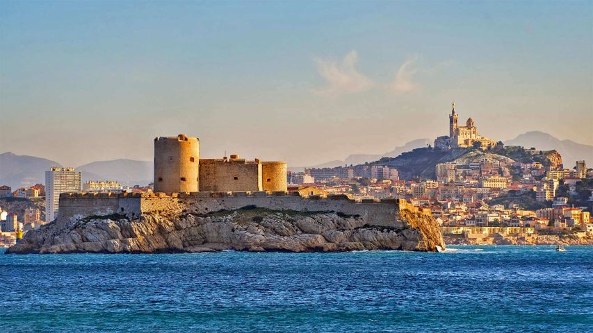 Château d'If in Marseille, France