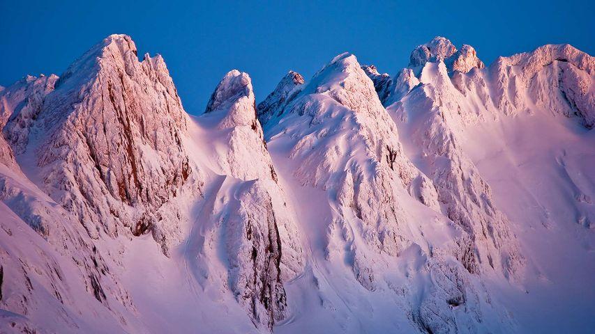 Atardecer sobre Los Argaos, Picos de Europa, Asturias, España