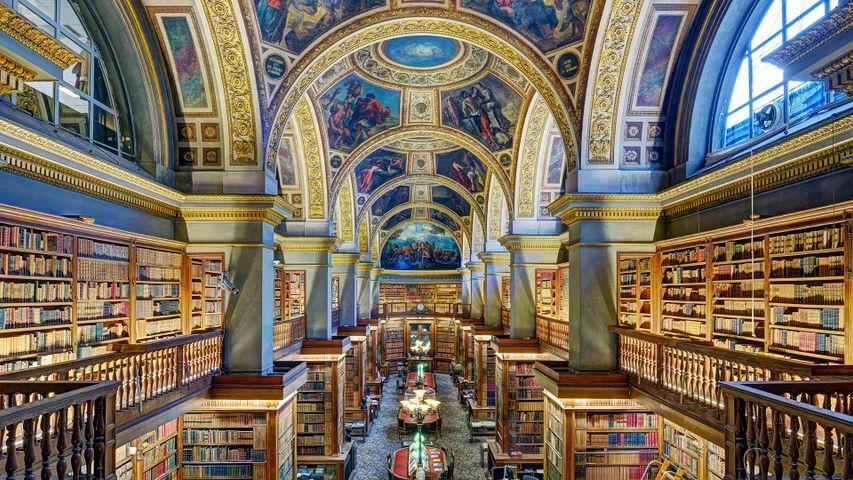Bibliothèque du Palais Bourbon pour le prix Goncourt, Paris, France