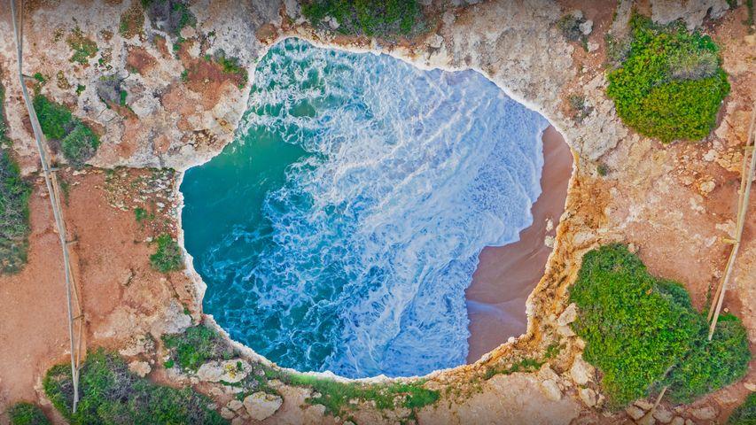 贝纳吉尔洞穴,葡萄牙阿尔加维