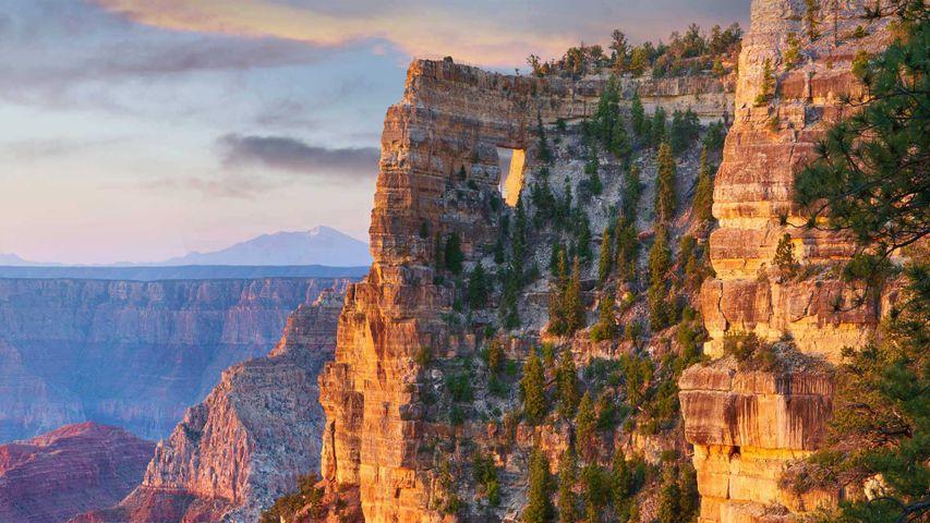 Angels Window on the North Rim of the Grand Canyon, Arizona, USA