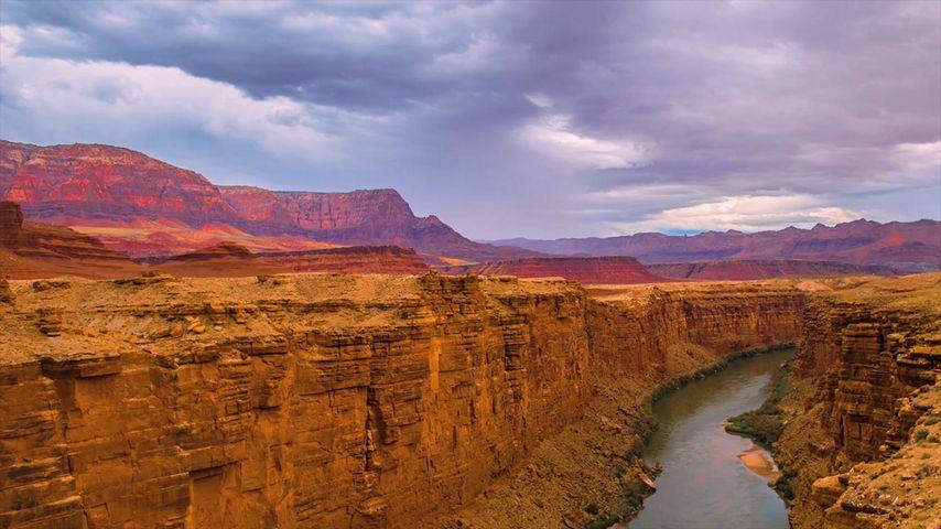 Colorado River und Marble Canyon, Grand-Canyon-Nationalpark, Arizona, USA