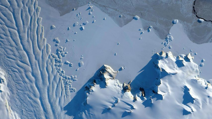 Matusevich Glacier in Antarctica