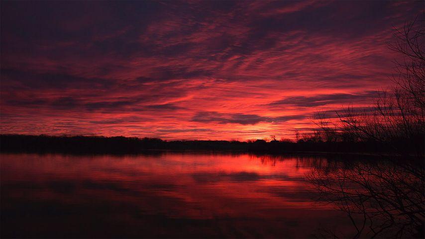 「フォックス川」アメリカ, ウィスコンシン州