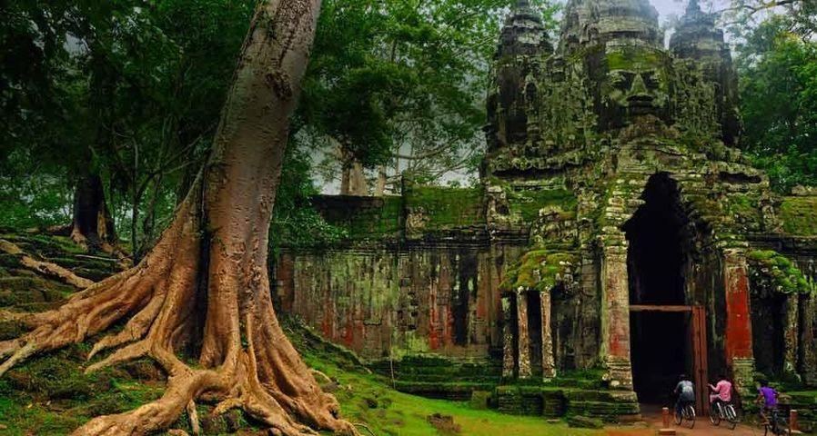 「アンコール・トム」カンボジア