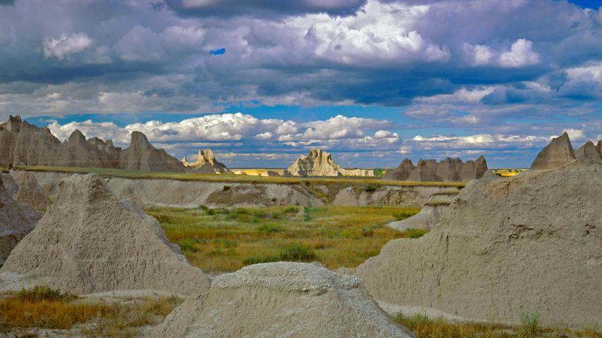 Castle Trail in Badlands National Park, South Dakota, USA
